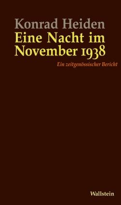 Eine Nacht im November 1938