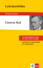 "Hermann Hesse, ""Unterm Rad"""