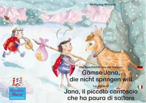 Die Geschichte von der kleinen Gämse Jana, die nicht springen will