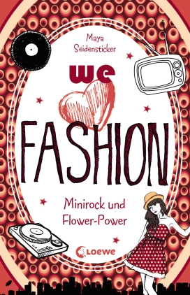 We love fashion - Minirock und Flower-Power