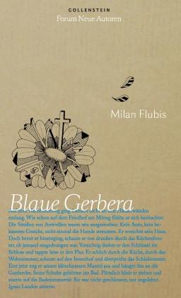 Blaue Gerbera