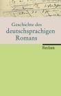Vergrößerte Darstellung Cover: Geschichte des deutschsprachigen Romans. Externe Website (neues Fenster)