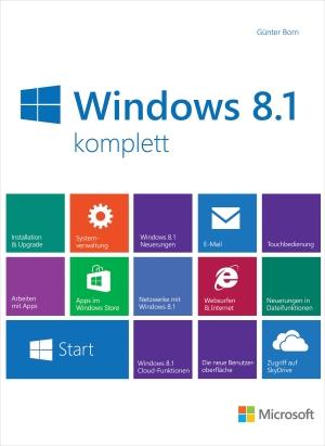 Microsoft Windows 8.1 komplett