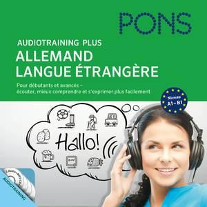 PONS Audiotraining Plus - Allemand langue étrangère