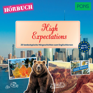 PONS Hörbuch Englisch: High Expectations