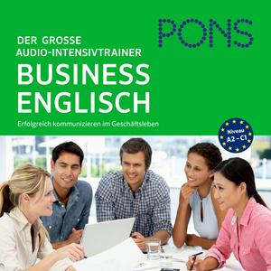 PONS Der große Audio-Intensivtrainer BUSINESS ENGLISH