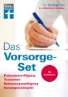 Vergrößerte Darstellung Cover: Das Vorsorge-Set. Externe Website (neues Fenster)