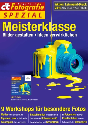 c't digitale Fotografie Spezial - Meisterklasse