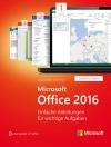 Microsoft Office 2016 Schritt für Schritt