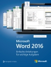 Microsoft Word 2016 Schritt für Schritt