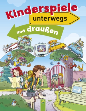 Kinderspiele unterwegs und draußen