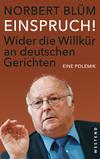 Vergrößerte Darstellung Cover: Einspruch!. Externe Website (neues Fenster)