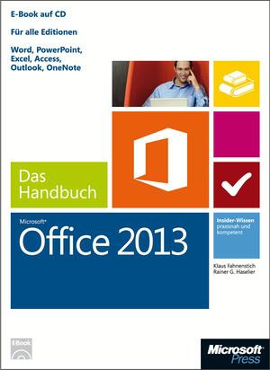 Microsoft Office 2013 - das Handbuch