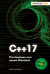 Vergrößerte Darstellung Cover: C++17. Externe Website (neues Fenster)