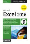 Microsoft Excel 2016 - Das Handbuch