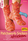 Patchwork-Socken stricken
