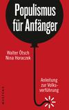 Vergrößerte Darstellung Cover: Populismus für Anfänger. Externe Website (neues Fenster)