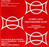 Rumänisch- byzantinische Musik - LUMINA LINA - FREUNDLICHES LICHT