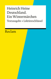 """Vergrößerte Darstellung Cover: Heinrich Heine, """"Deutschland, ein Wintermärchen"""". Externe Website (neues Fenster)"""