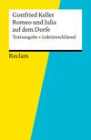 """Vergrößerte Darstellung Cover: Gottfried Keller, """"Romeo und Julia auf dem Dorfe"""". Externe Website (neues Fenster)"""