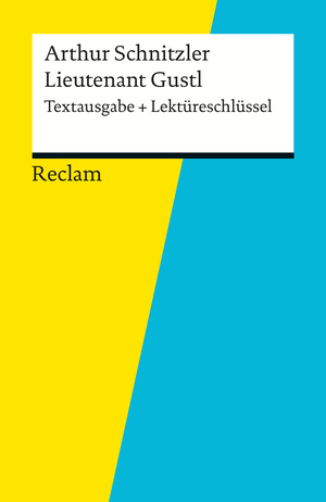 "Arthur Schnitzler, ""Lieutnant Gustl"""