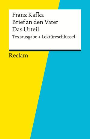 """Franz Kafka, """"Brief an den Vater"""", """"Das Urteil"""""""
