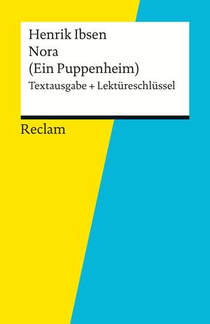 """Henrik Ibsen, """"Nora (Ein Puppenheim)"""""""