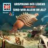 Vergrößerte Darstellung Cover: WAS IST WAS Hörspiel: Ursprung des Lebens/ Sind wir allein im All?. Externe Website (neues Fenster)