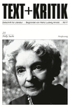 TEXT + KRITIK 23 - Nelly Sachs