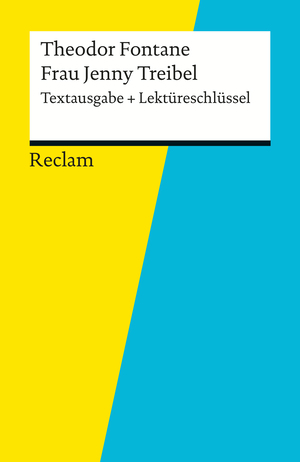 """Theodor Fontane, """"Frau Jenny Treibel"""""""