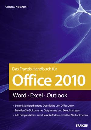 Das Franzis-Handbuch für Office 2010