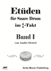 Etüden für Snare Drum im 4/4-Takt - Band 1