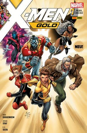 X-Men: Gold 1 -Ein neuer Morgen