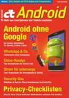Vergrößerte Darstellung Cover: c't Android (2018). Externe Website (neues Fenster)