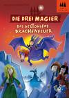 Vergrößerte Darstellung Cover: Die drei Magier- Das gestohlene Drachenfeuer. Externe Website (neues Fenster)