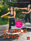 Balance Swing auf dem Minitrampolin