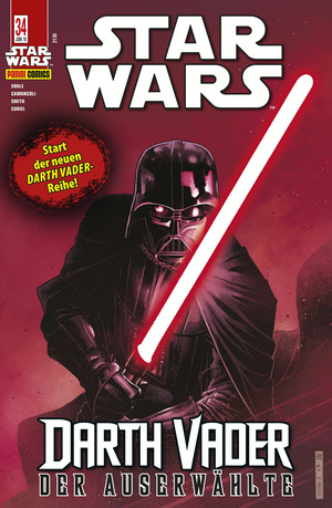 Star Wars, Comicmagazin 34 - Darth Vader - Der Auserwählte