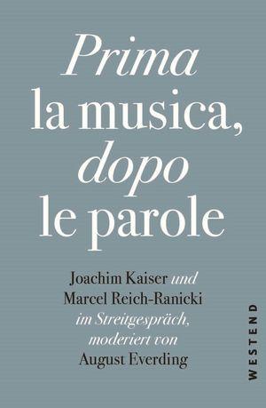Prima la Musica, dopo le parole