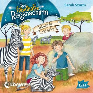 Der fabelhafte Regenschirm. Rettung für das Zebra