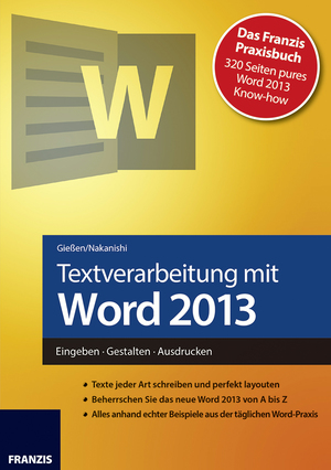 Textverarbeitung mit Word 2013