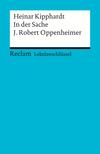 Heinar Kipphardt: In der Sache J. Robert Oppenheimer