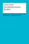 Vergrößerte Darstellung Cover: Uwe Timm: Am Beispiel meines Bruders. Externe Website (neues Fenster)