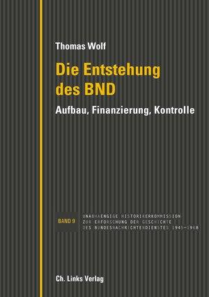 Die Entstehung des BND