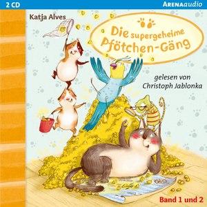 Die supergeheime Pfötchen-Gäng (1&2). Der Zwei-Millionen-Körner Schatz. Die geheimnisvolle Glückskatze