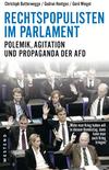 Vergrößerte Darstellung Cover: Rechtspopulisten im Parlament. Externe Website (neues Fenster)