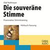 Vergrößerte Darstellung Cover: Die souveräne Stimme. Externe Website (neues Fenster)
