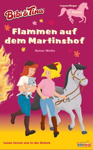 Flammen auf dem Martinshof