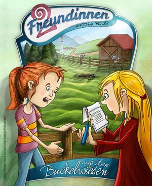 Zwei Freundinnen auf den Buckelwiesen