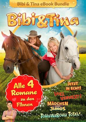 Bibi & Tina - Alle 4 Bücher zu den Kinofilmen