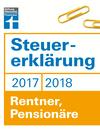 Vergrößerte Darstellung Cover: Steuererklärung 2017/2018 - Rentner, Pensionäre. Externe Website (neues Fenster)